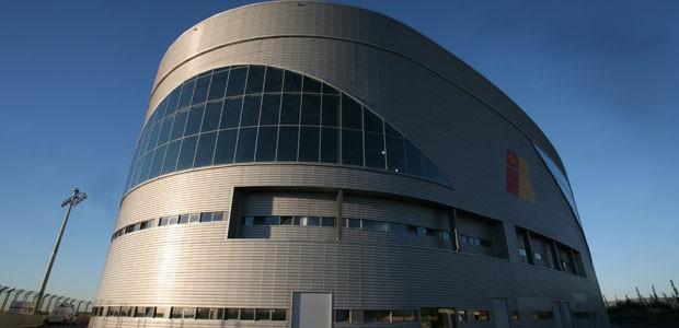Hangar de mantenimento de aviones