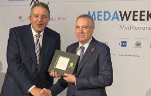 La MedaWeek 2019 distingeix el Consorci de la Zona Franca de Barcelona amb el Mediterranean Award