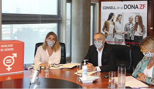 La Zona Franca de Barcelona constitueix el Consell de la Dona per a impulsar la igualtat de gènere en l'àmbit industrial