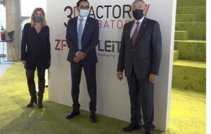 El cónsul general de los Emiratos Árabes Unidos visita la sede del Consorci de la Zona Franca de Barcelona